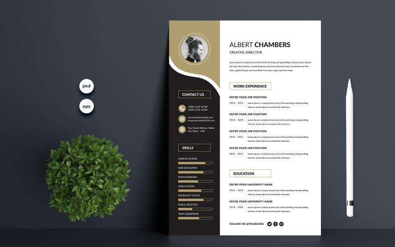 Albert Premium Resume Template