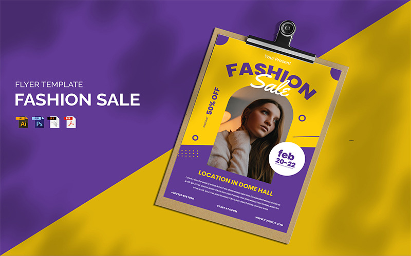 Fashion Sale - Flyer Vorlage