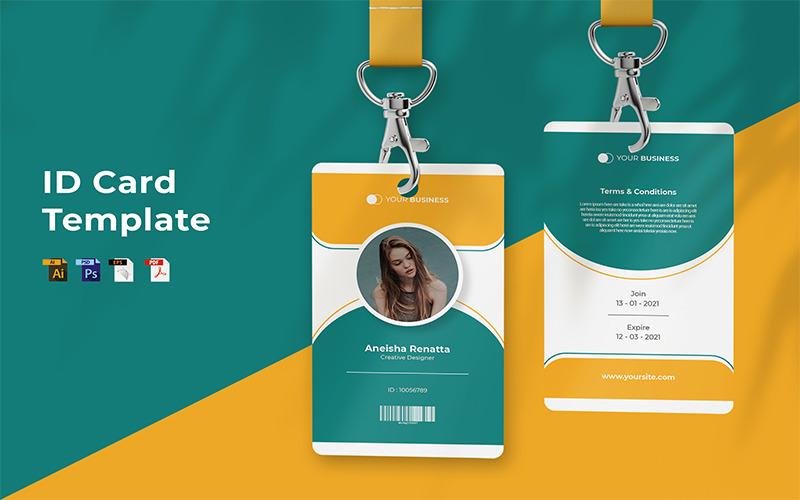 Aneisha Renatta - ID-Kartenvorlage