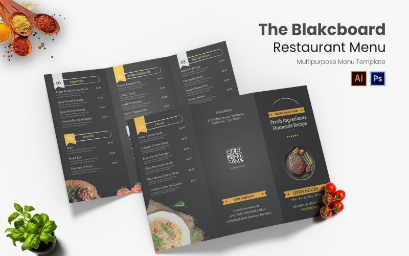 Blackboard Restaurant Menü