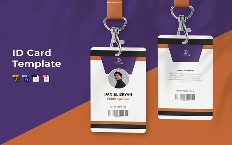Daniel Bryan - ID-Kartenvorlage