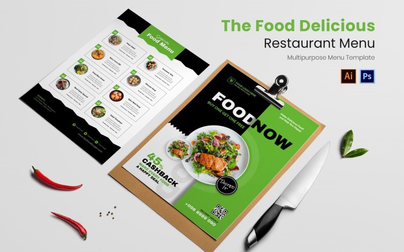 Essen Delicious Restaurant Menü