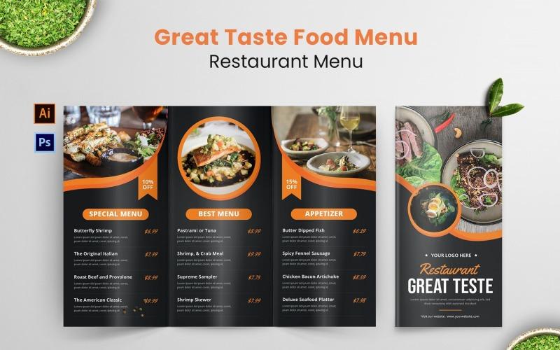 Great Taste Food Restaurant Menü