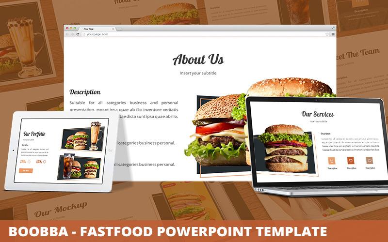 Boobba - Fastfood Powerpoint-Vorlage