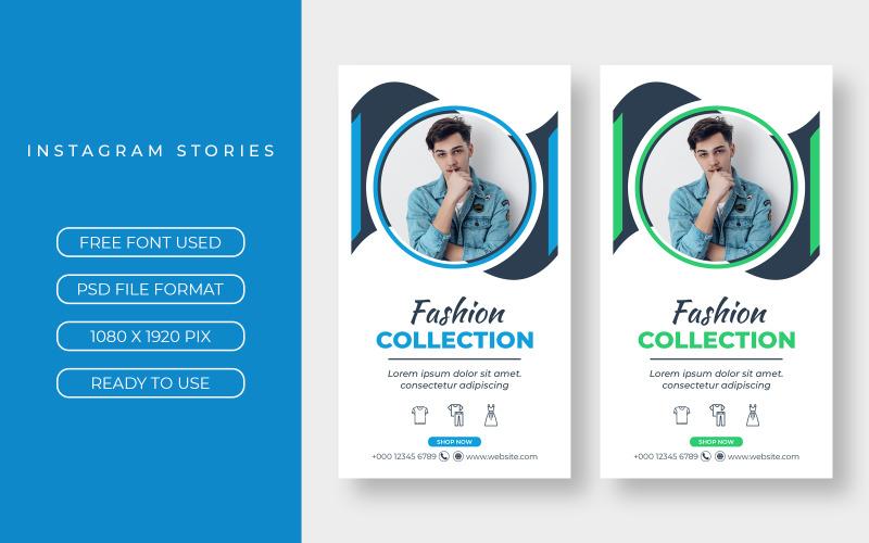 2 Instagram Stories Werbevorlagen für soziale Medien
