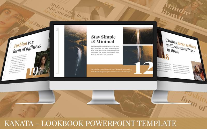 Kanata - Lookbook Powerpoint-Vorlage