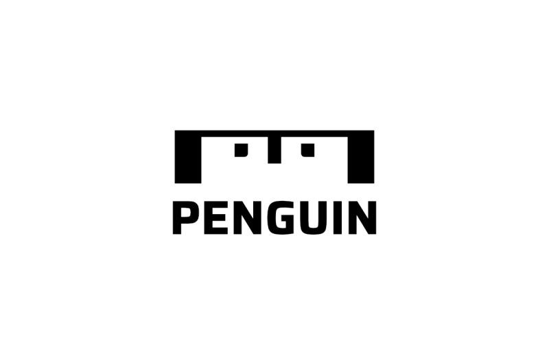 M Pinguin - Logo-Vorlage