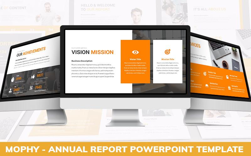 Mophy - Powerpoint-Vorlage für den Jahresbericht