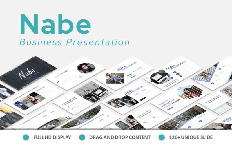 Nabe Modern Powerpoint Präsentation