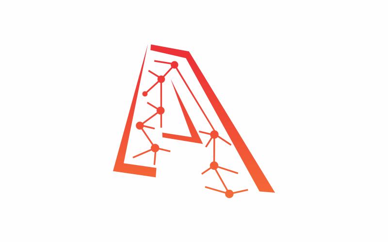 Schreiben Sie eine Technologie-Logo-Vorlage