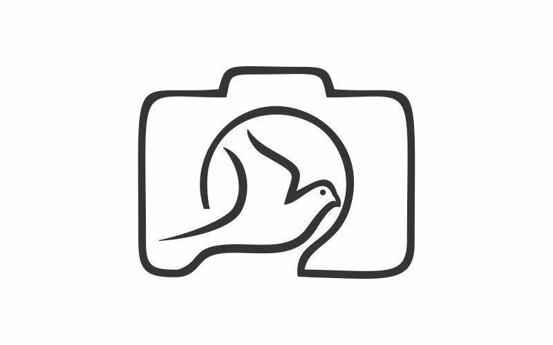 Vogelfotografie-Logo-Vorlage