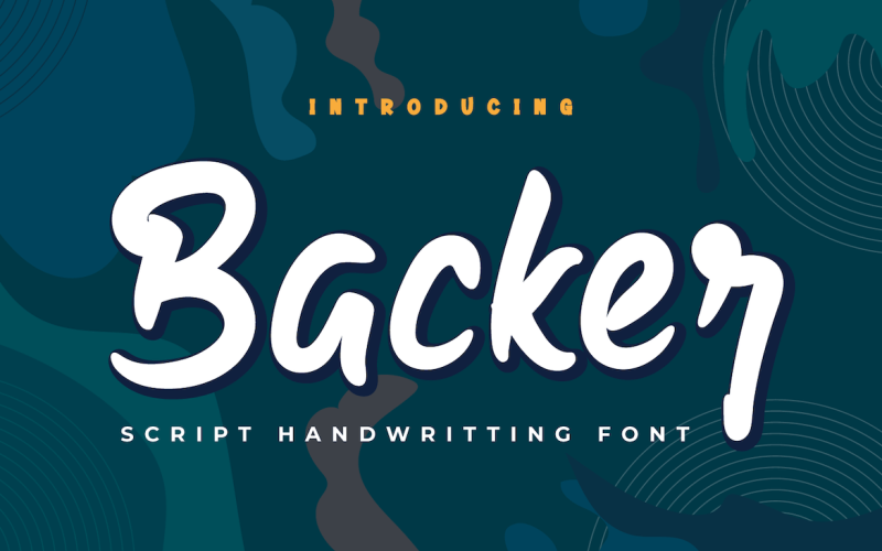 Backer - Schöne Handschrift Schrift