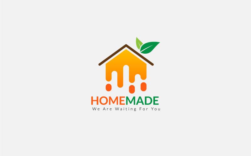 Food Logo hausgemachte Gemüseherstellung Logo Vorlage