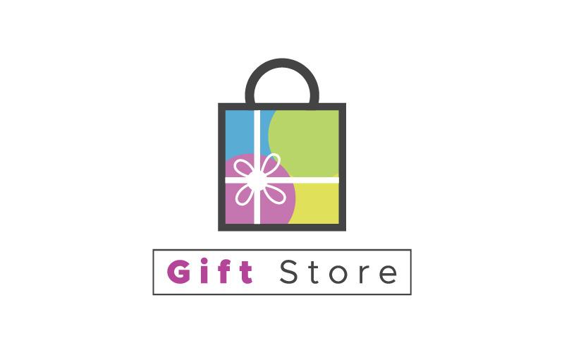 Gift Store Logo & viele Arten von Unternehmen Logo Vorlage