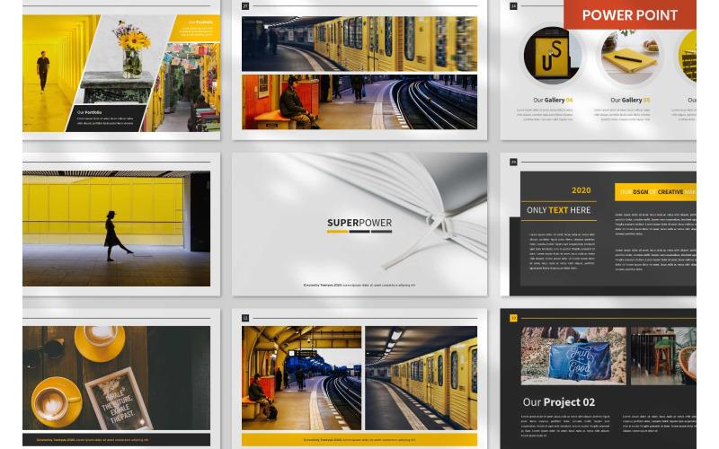 Powerpoint-Vorlagen für SuperPower-Präsentationen