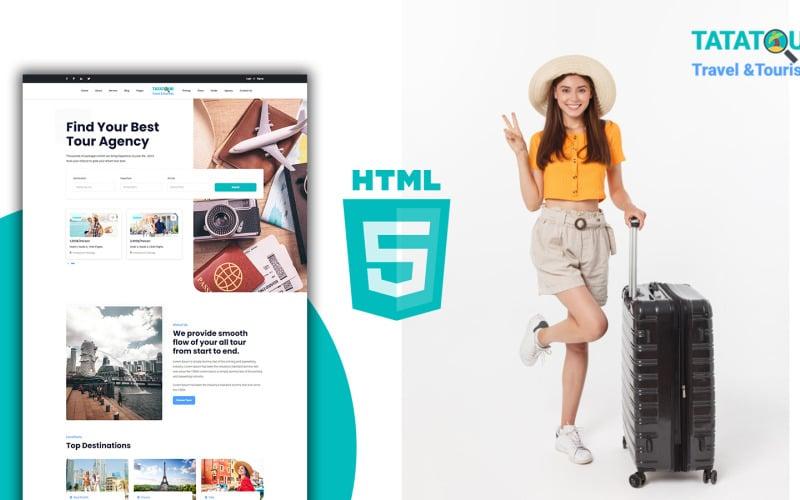 Tatatour - Tour and Tourism HTML Template