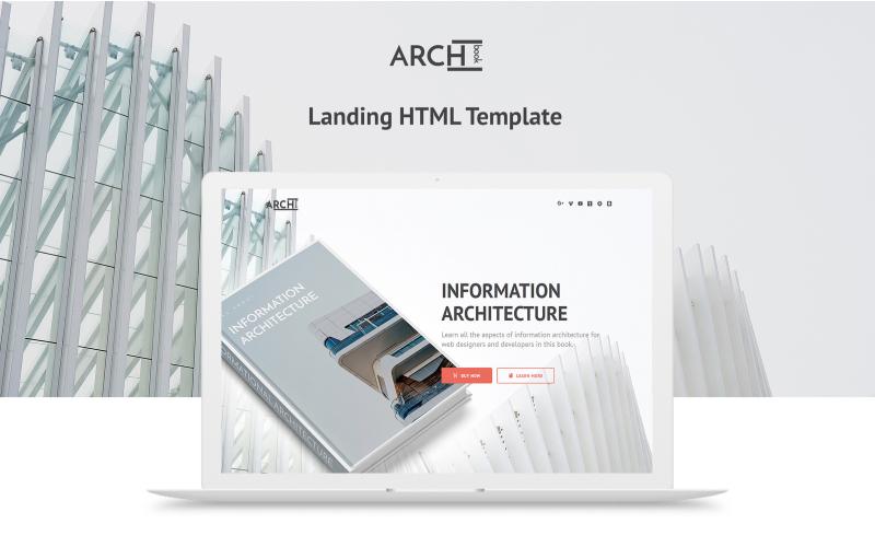 Archbook - Kostenlose Responsive Landing Page Vorlage