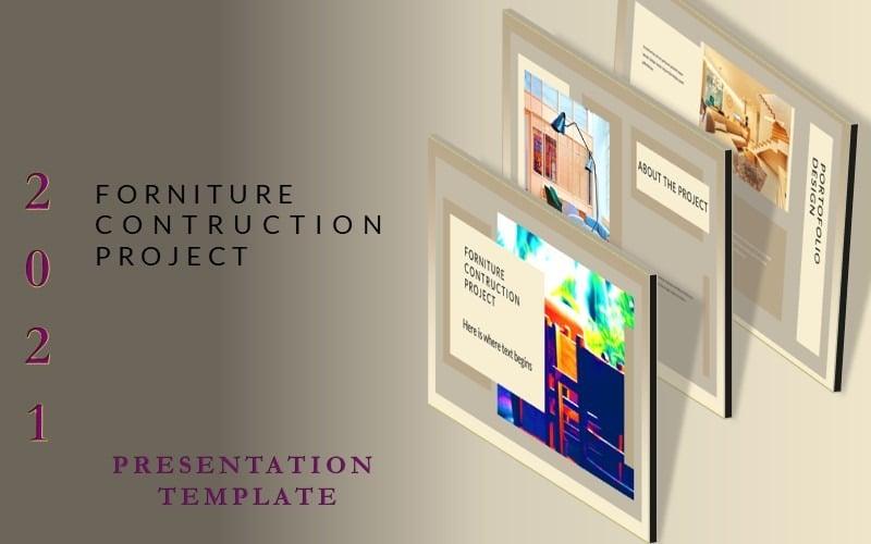 FORNITURE- Kostenlose Google Slide-Präsentationsvorlage