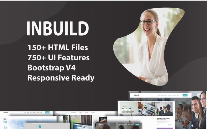 Inbuild - All-In-One-HTML-Vorlage