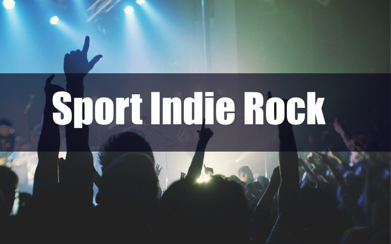 Sport Indie Rock Stock Musik