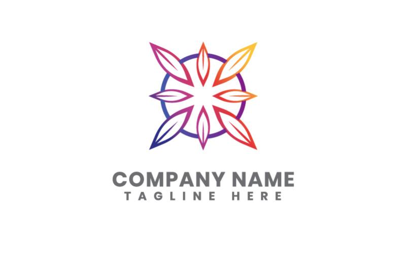 Blatt Natur Business Logo Vorlage