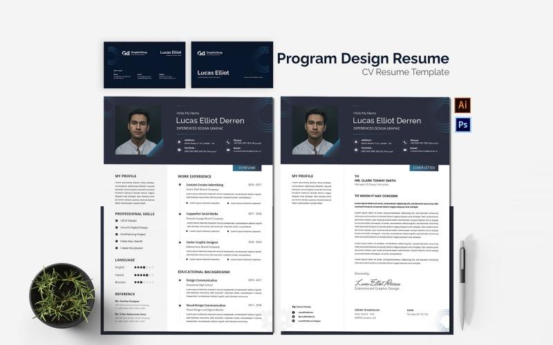 Programmdesign Lebenslauf Druckbare Vorlagen für Lebensläufe