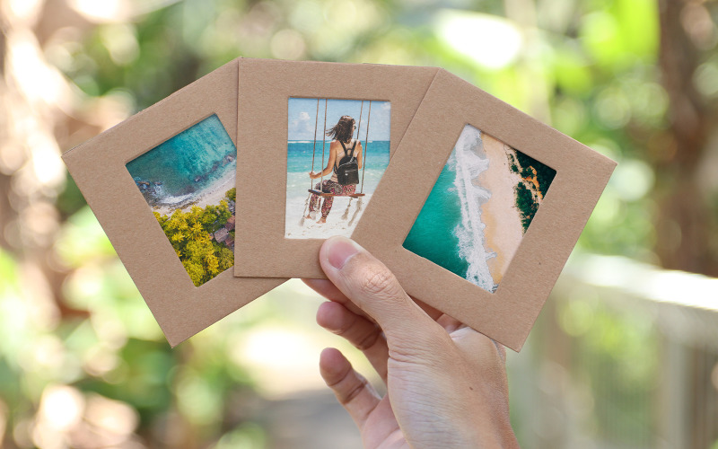 Beach Memories Fotorahmen Produktmodell