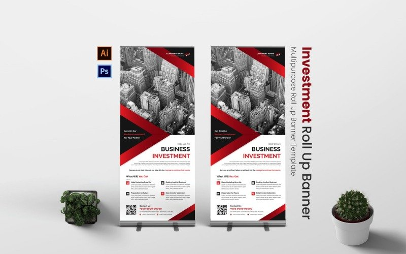 Investment Business Roll Up Banner