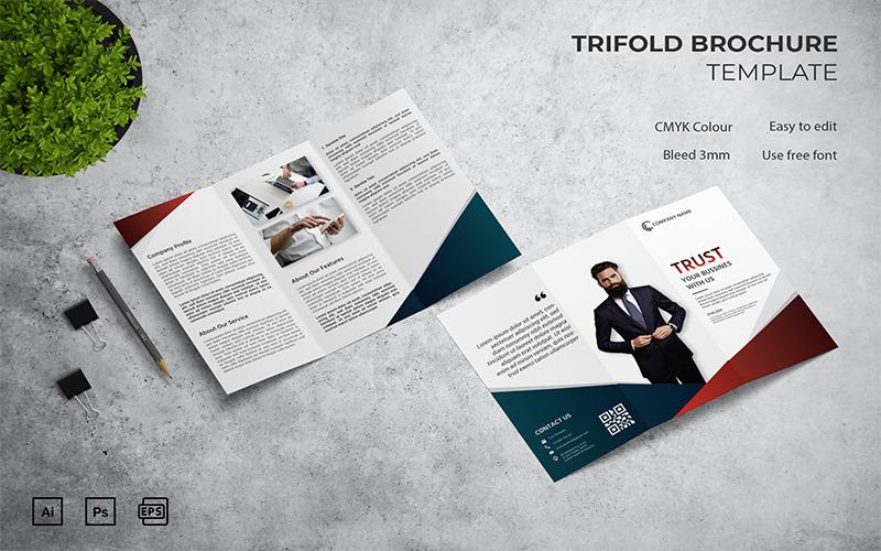 Trust - Trifold Broschürenvorlage
