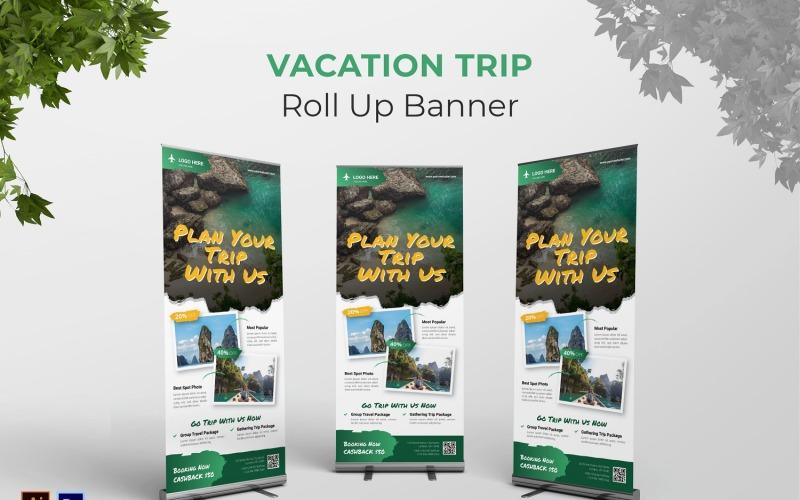 Urlaubsreise Roll Up Banner