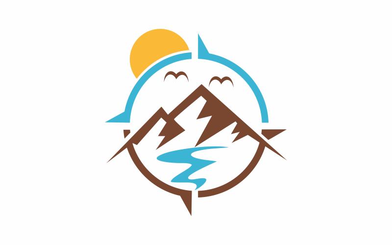 Compass Mountain LogoTemplate