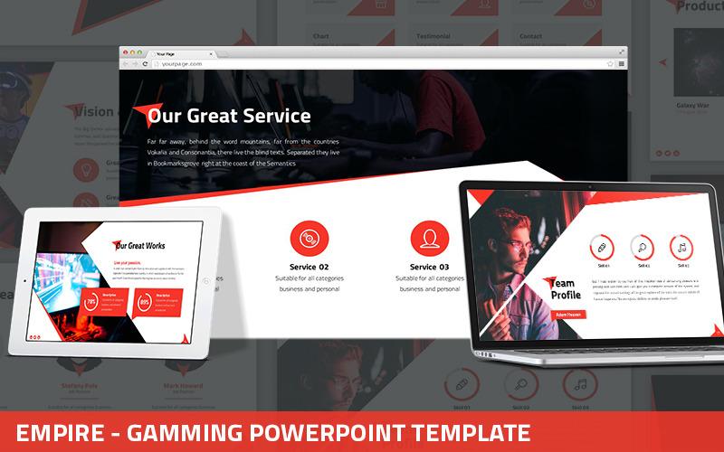 Empire - Gaming Powerpoint Vorlage
