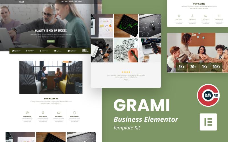 Grami - Kit Business Elementor