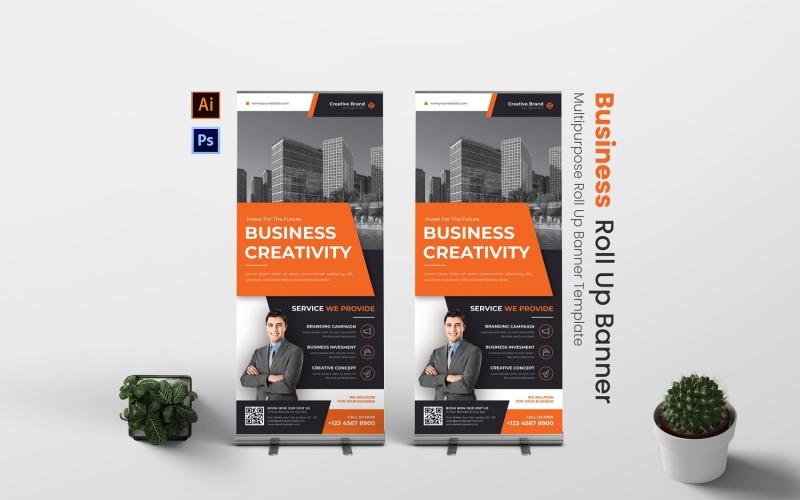 Kreativität Business Roll Up Banner