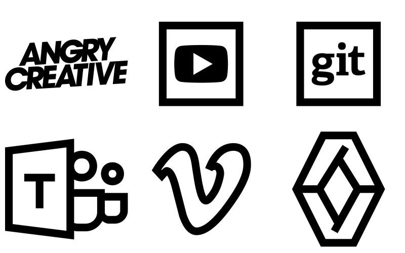 Logos Icon Pack im Windows 10-Stil