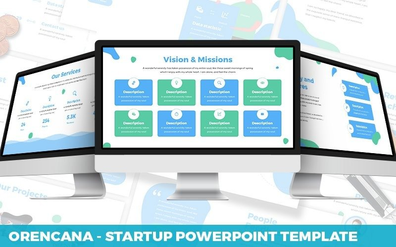 Orecana - Powerpoint-Startvorlage