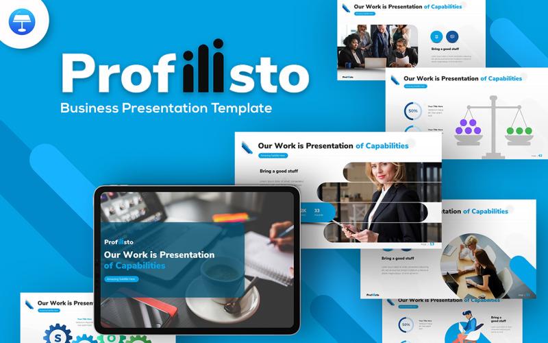 Profilisto Business Creative Keynote-Vorlage