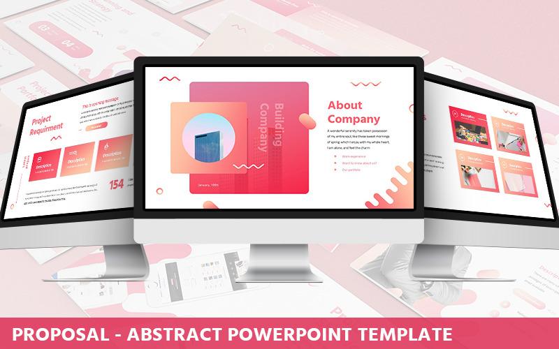 Proposta - Modello PowerPoint Astratto