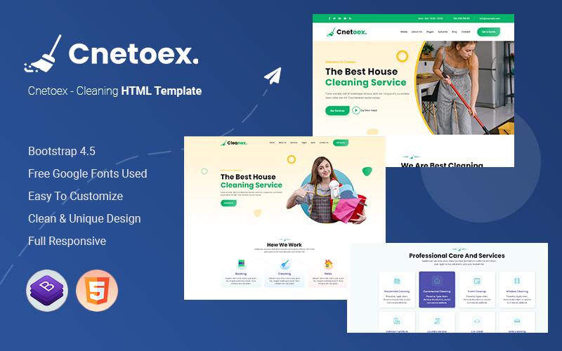 Cnetoex - Modello HTML di pulizia