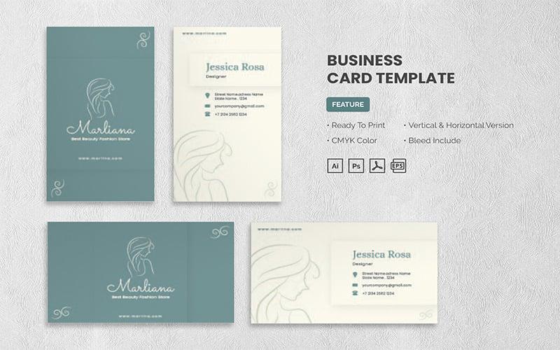 Marlina - Business Card Template
