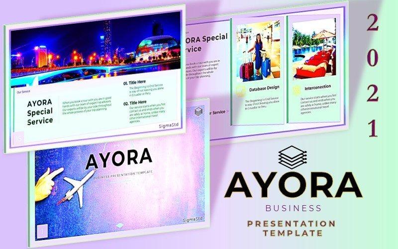 AYORA - Modello di presentazione di diapositive di Google