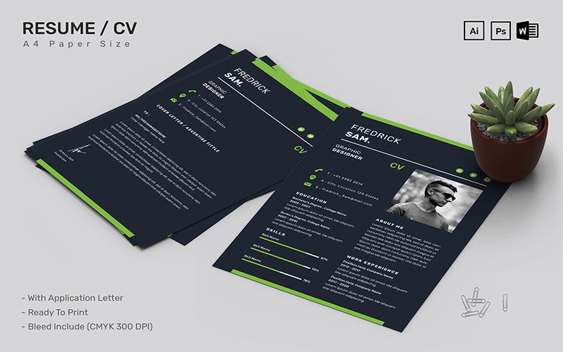 Fredrick Sam - CV Printable Resume Templates
