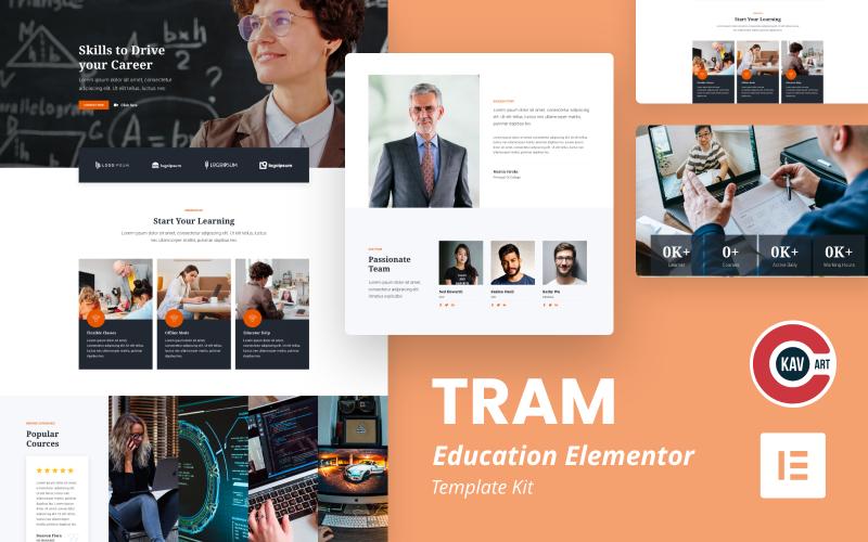 Трамвай - учебный элемент