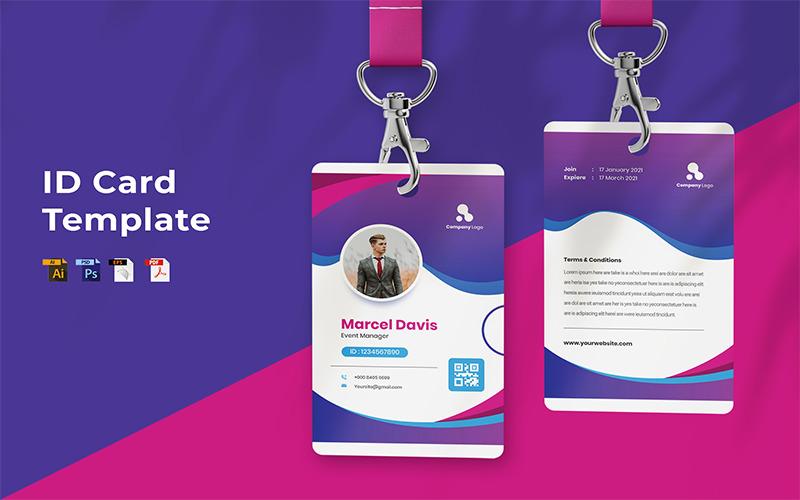 Marcel Davis - ID Card Template