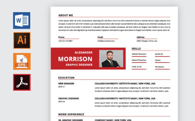 Alexander Morrison Resume Template