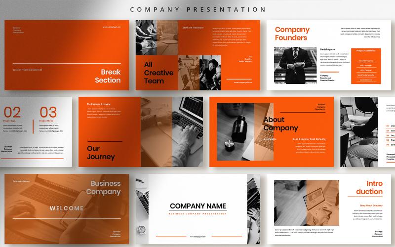 Презентация компании Шаблоны презентаций PowerPoint