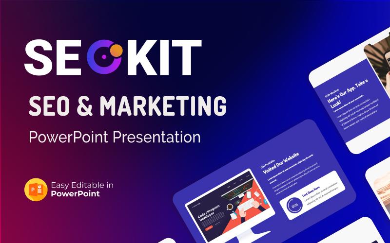 Seokit – SEO and Marketing PowerPoint Presentation Template