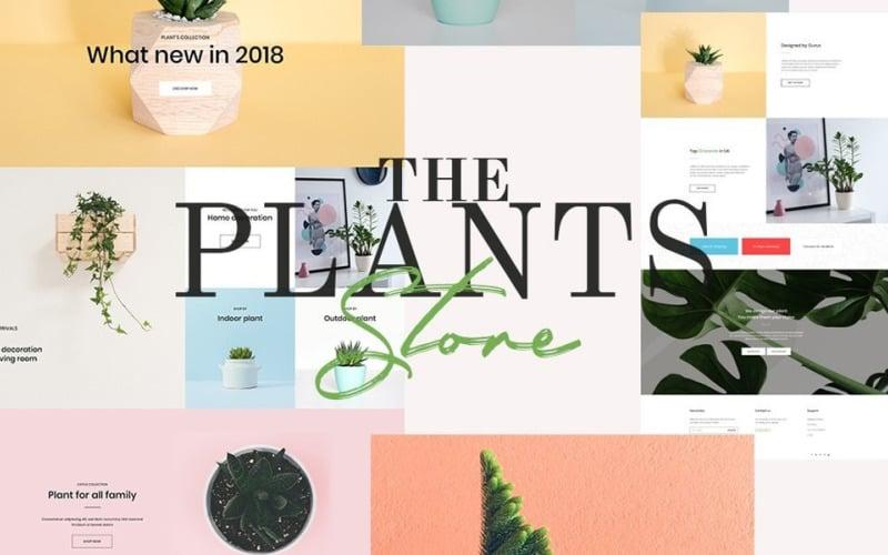 Магазин растений - тема PrestaShop Садоводство и комнатные растения