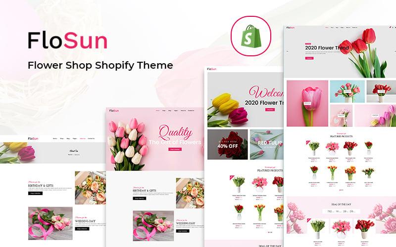 Flosun - Цветочный магазин Shopify Тема