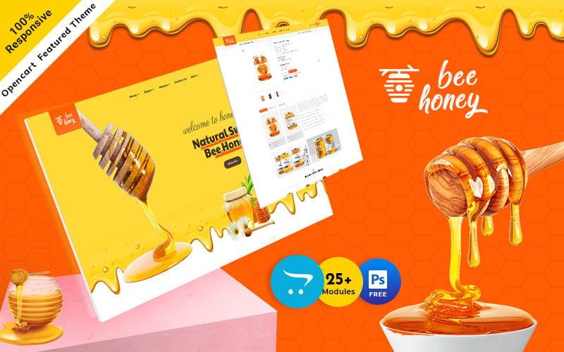 Honey  - Agro Bee & Sweet Shop OpenCart Responsive Theme